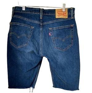 Levi's 511 Cutoff Shorts Size 32 Blue Jean